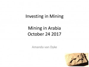 thumbnail of Mining in Arabia