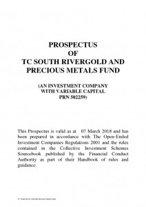thumbnail of TC South River Gold and Precious Metals Fund Prospectus Final 030318
